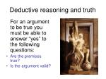 deductive reasoning and truth1