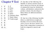 chapter 9 test