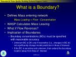 what is a boundary1