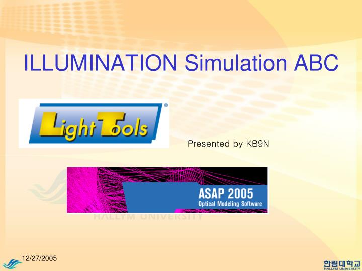 illumination simulation abc n.