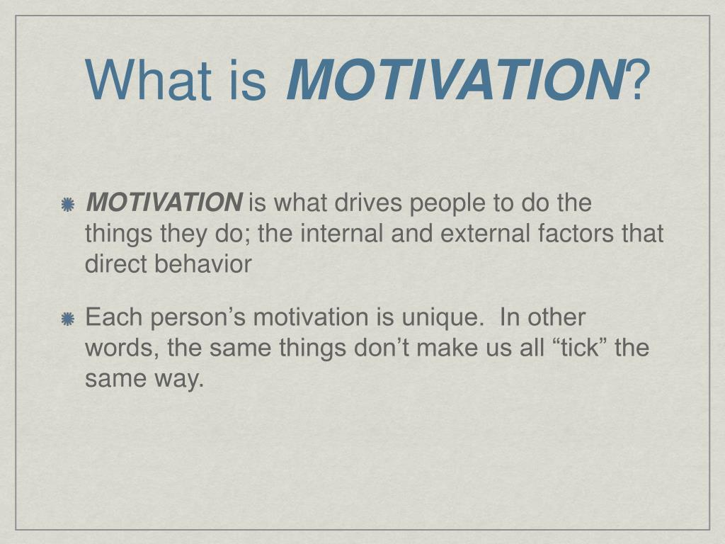 PPT - MOTIVATION, EMOTION, & STRESS PowerPoint Presentation