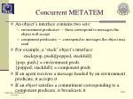 concurrent metatem5
