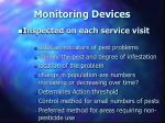 monitoring devices