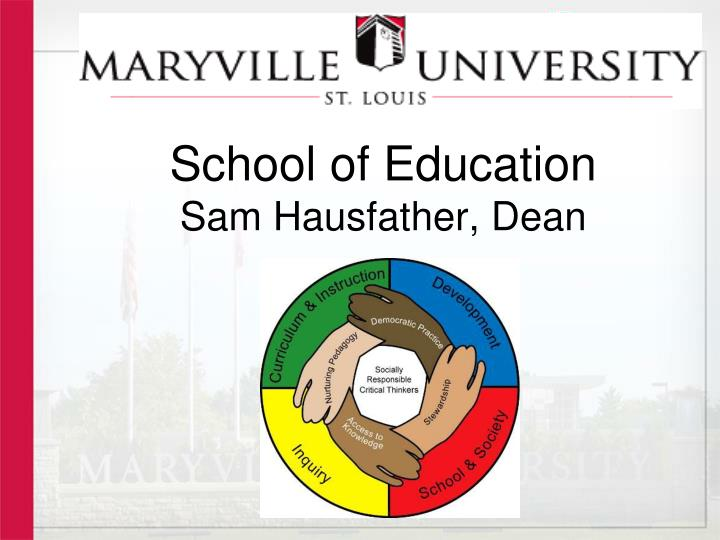 school of education sam hausfather dean n.