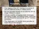 redefining security