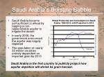 saudi arabia s bursting bubble