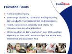 friesland foods
