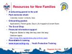 resources for new families