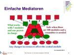 einfache mediatoren1