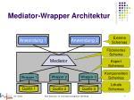 mediator wrapper architektur2
