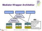 mediator wrapper architektur5