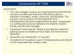 components of tcm