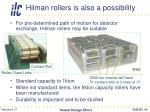 hilman rollers is also a possibility