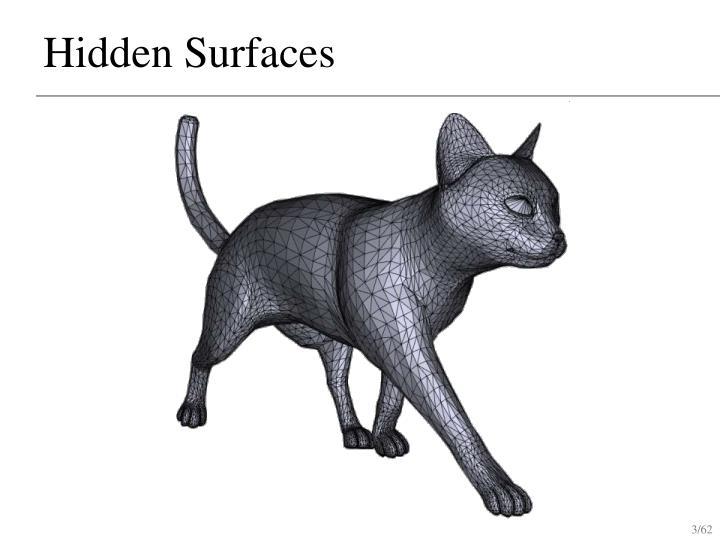 Hidden surfaces2