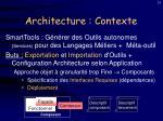 architecture contexte
