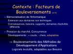 contexte facteurs de bouleversements 2 3