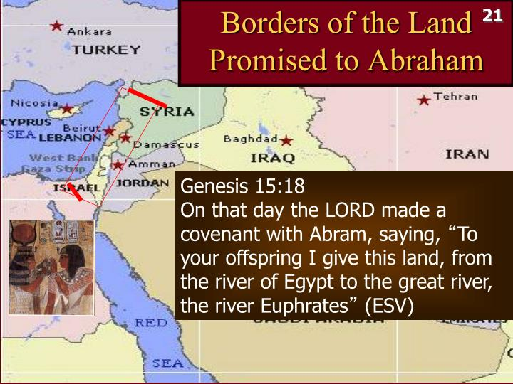 Borders of the Land Promised to Abraham