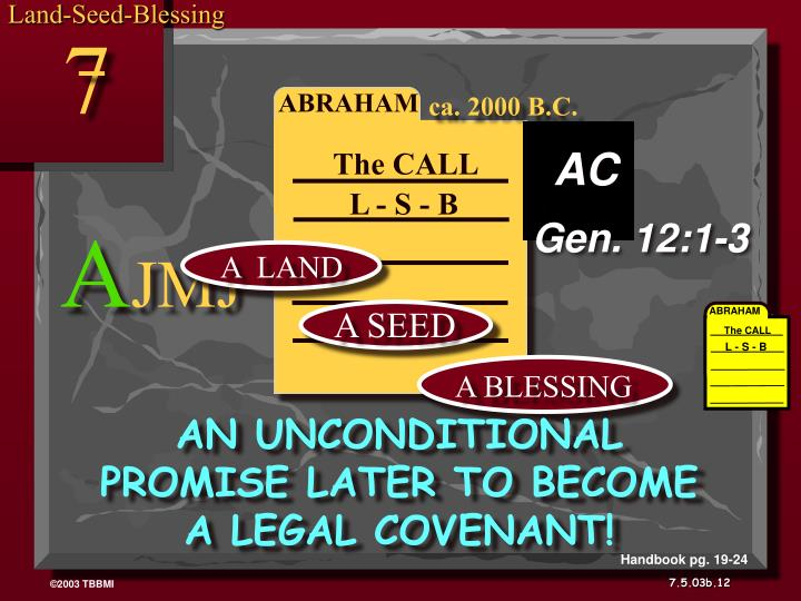 Land-Seed-Blessing