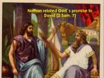 nathan related god s promise to david 2 sam 7