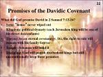 promises of the davidic covenant