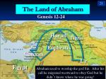 the land of abraham