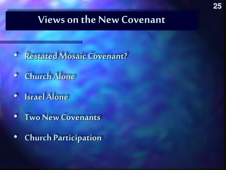 Views on the New Covenant