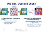 oke et al oses and osses