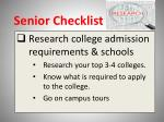 senior checklist1