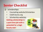 senior checklist10