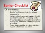 senior checklist5