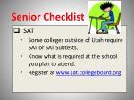 senior checklist8