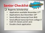 senior checklist9