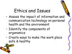 ethics and issues2