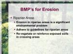 bmp s for erosion11