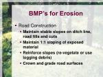 bmp s for erosion5