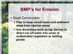 bmp s for erosion7