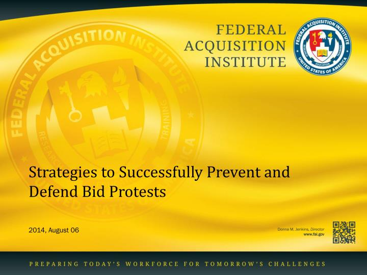 strategies to successfully prevent and defend bid protests n.