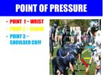 point of pressure