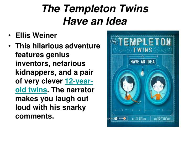 Ppt rooster games 2014 powerpoint presentation id5617266 the templeton twins have an idea fandeluxe Image collections