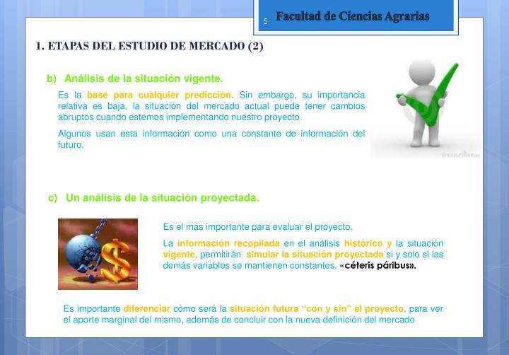1. ETAPAS DEL ESTUDIO DE MERCADO (2)