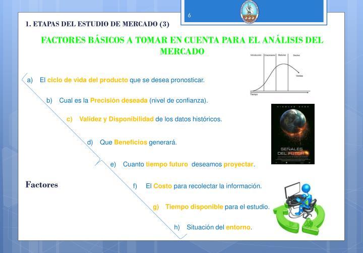 1. ETAPAS DEL ESTUDIO DE MERCADO (3)