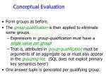 conceptual evaluation1