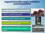 impactul deseurilor asupra mediului si sanatatii populatiei