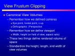view frustum clipping1