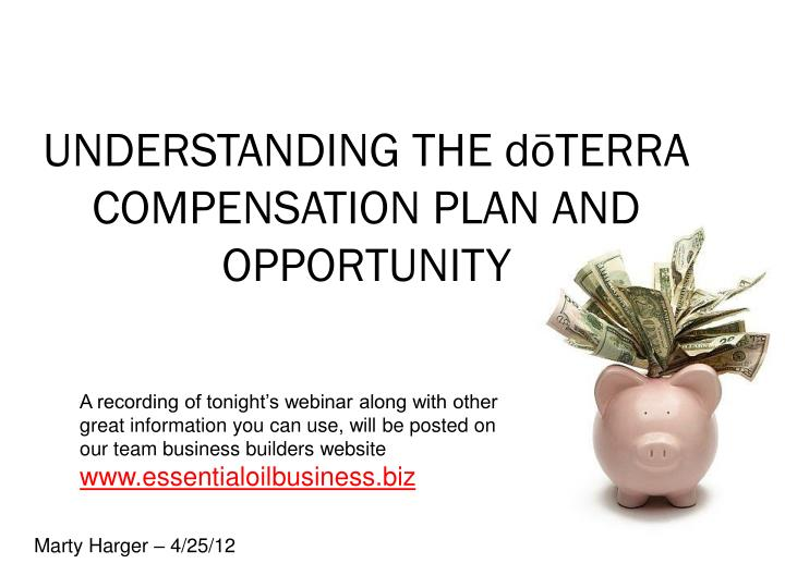 understanding the d terra compensation plan and opportunity n.