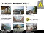 architectonische kwaliteit goede gebouwen
