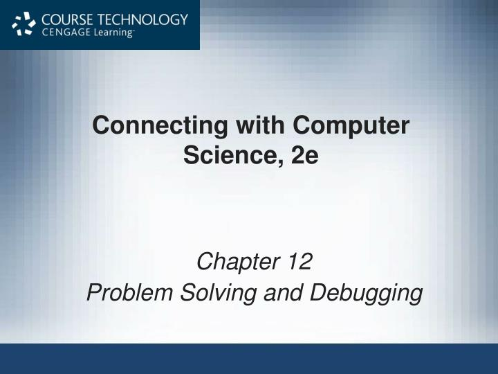 connecting with computer science 2e n.