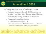 amendment 0801
