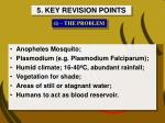 5 key revision points