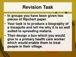 revision task